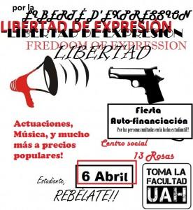 Fiesta Libertad Expresión TomaLaUAH